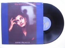 Anne Pigalle - Why Does It Have To Be This Way, Zang Tuum Tumb 12CERT2 Ex Con