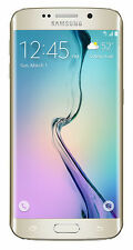 Brand New Samsung Galaxy S6 Edge SM-G925T -32GB - Gold Platinum (T-Mobile) #4049