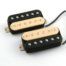 ARTEC Zebra Humbucker Pickup SET Bridge + Neck ALNICO5 4-adrig splitbar