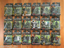 ✅ GI Joe Rise of Cobra Figures Lot of 18 -No Duplicates MOC (B) C9-C10 BARONESS