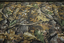"REALTREE ADVANTAGE TIMBER HUNTING CAMOUFLAGE FABRIC COTTON/POLY TWILL 60"" X 70"""
