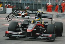 Bruno Senna Hand Signed Hispania F1 12x8 Photo.