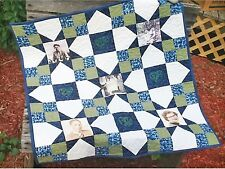 SNAPSHOT PHOTO WALL HANGING QUILT PATTERN, From Cut Loose Press Patterns NEW