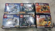 Lego Star Wars Micro Fighters Series 3  (75125 to 75130)