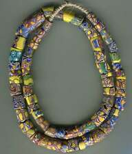 African Trade beads Vintage Venetian glass beads mixed millefiori