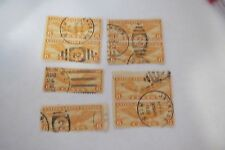 """8~VTG~ 6 Cents U.S. Postage Stamps """"AIR MAIL"""" C-19 1930's"""
