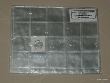 Premium Quality PVC Coin Sheets, 20 Coins Capacity 10 Sheets,
