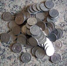 DDR Lot Münzen -  5 Pfennige 1968 - 1990 - 80 Stück undurchsucht