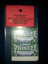 REPO MINT WRAPPERS FOR ANTIQUE SLOT MACHINE MW#14 PIONEER GREEN 10 PACK