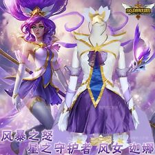 League of Legends LOL Ghana Christmas Cosplay costume Party fancy dress