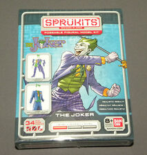 Sprukits The Joker Batman Poseable Figural Model Kit Figure Bandai DC Level 1