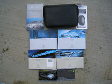 MERCEDES BENZ R350 OWNERS MANUAL SET  OEM   WITH CASE