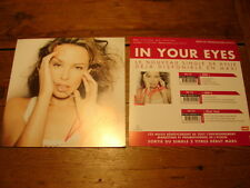 KYLIE MINOGUE IN YOUR EYES!!!!!!!!RARE FRENCH PRESS/KIT