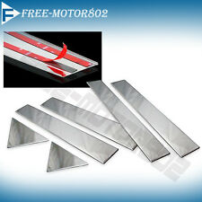 FOR 05-08 09 10 CHRYSLER 300 300C CHROME DOOR PILLAR POST TRIM 6 PCS
