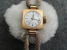 John Weitz for Destino 17 Jewels Wind Up Vintage Ladies Watch