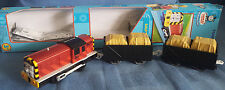 Tomy Blue Track/Trackmaster Thomas The Tank Engine Motorised Salty Cargo Cars