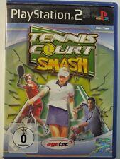 !!! PLAYSTATION PS2 SPIEL Tennis Court Smash, gebraucht aber GUT!!!