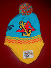PACIFICO Clara Mexican BEER Beanie Winter Hat EAR FLAPS Vtg Hipster NEW OSFA