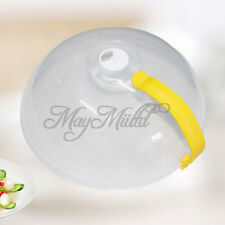 Microwave Plate Cover Steam Vent Food Lid with Hand Fashion G