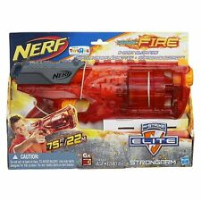NERF N-STRIKE SONIC FIRE STRONGARM BLASTER DART GUN 6 DART SLAM EXCLUSIVE NEW