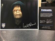 Official Pix IAN MCDIARMID SIGNED AUTOGRAPHED 8x10 PHOTO PALPATINE STAR WARS OPX