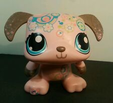 LPS Littlest pet shop interactive toy dog dancing pink plays music 2009