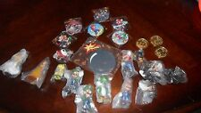 NEW Super Mario figures buttons party favors set Luigi Daisy Yoshi