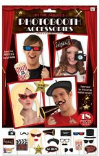 PHOTO BOOTH  KIT HOLLYWOOD AWARDS OSCARS AT THE MOVIES THEMED PARTY DECORATIONS