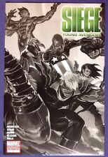 SIEGE: YOUNG AVENGERS 1 June 2010 9.4-9.6 NM/NM+ MARKO DJURDJEVIC SKETCH VARIANT