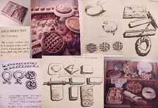 Cp.BOOK PASTRY~PASTRIES COOK RECIPE MAKING~DANISH FRENCH ITALIAN,HUNGARIAN CREAM