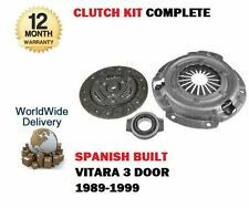 FOR SUZUKI VITARA 1.6 SPANISH BUILT G16A ENGINE 1989--  NEW CLUTCH KIT COMPLETE