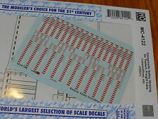 Microscale Decal #MC-4122 Conspicuity Striping (1993+) Trailer & Freight Cars