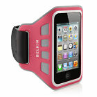 Belkin EaseFit iPod Touch 4th Gen/4G Sport Armband Case/Cover Grey/Pink F8W019