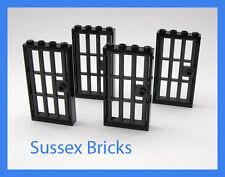 LEGO City - 4x prigione sbarrate porte e dei telai 1x4x6 castello sotterraneo-Pezzi Nuovi