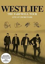Westlife The Farewell Tour - Live At Croke Park BRAND NEW AND SEALED UK R2 DVD