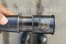 """ANTIQUE VINTAGE STYLE NAVAL SOLID BRASS EXTENDING NAUTICAL MARINE 16"""" TELESCOPE"""