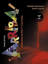 Arriba! Comunicacin y cultura with CD-ROM, Third Edition