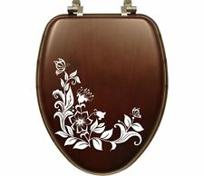 Butterflys Flower Toilet Seat Sticker Bathroom Home Wall Art Décor Animal Decal