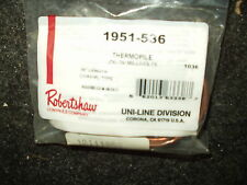ROBERTSHAW 1951-536 Thermopile, Coaxial Type, 36""