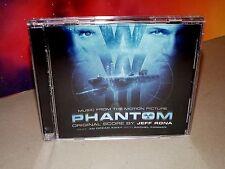 Phantom [Original Score] (CD, 2012, Jeff Rona, Milan, Promo, Used)