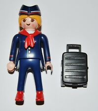 Series 9-M7 Azafata playmobil serie 5599 stewardess