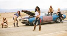 Retro Muscle Car Hot Girls SILK POSTER 13x19