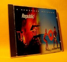 NEW CD NewOrder Republic 11TR 1993 Alternative Rock, House, Synth-pop