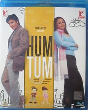HUM TUM - Bollywood Movie Blu-ray + DVD with Special Features.
