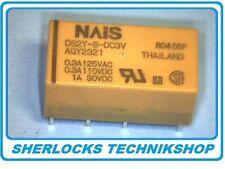 Relais NAIS DS2Y-S-DC3V 3V 2 Wechsler 2 Form C