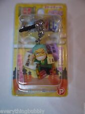 *NEW* KYOTO LIMITED One Piece Zoro Omiyage Earphone Phone Jack Plug Charm