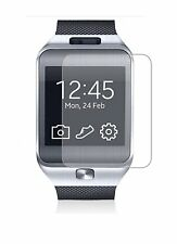 2 Pack Screen Protectors Protect Cover Guard Film For Samsung Galaxy Gear 2