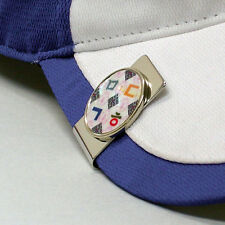 MOP White Metal Magnetic Ball Marker Hat Cap Money Clip