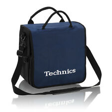 Technics DJ Record Bag Ruck Sack 50 vinyl LP Navy White Logo SL 1200 SL 1210