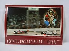 The Final 1982 Gordon Johncock / Rick Mears Indianapolis 500 Pace Car Post Card